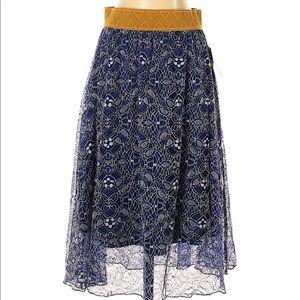 Lularoe Lola skirt lace NWT